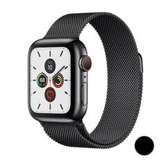 Watch Series 5 GPS + Cellular, 44mm Stainless Steel Case with Milanese Loop (Черный космос)