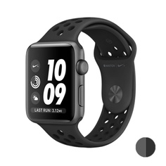 Watch Nike+ 42mm (MQ182) Space Gray Aluminum Case with Anthracite/Black Nike Sport Band