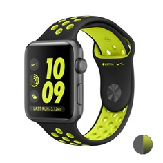 Apple Watch Nike+ 42mm (MP0A2) Space Gray Aluminum Case with Black/Volt Nike Sport Band