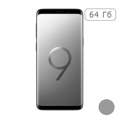 Galaxy S9+ 64Gb SM-G965F Titanium Gray/Титан