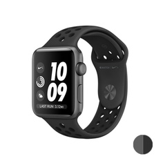 Watch Nike+ 38mm (MQ162) Space Gray Aluminum Case with Anthracite/Black Nike Sport Band