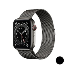 Watch Series 6 GPS + Cellular, 40mm Stainless Steel Case with Milanese Loop (Графит)