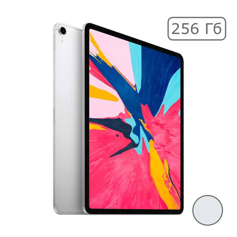 "iPad Pro 12.9"" (2018) 256Gb Wi-Fi + Cellular Silver"