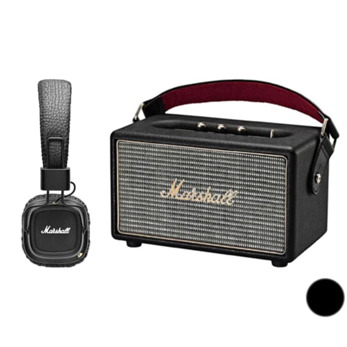Портативная колонка Marshall Kilburn Black + Marshall Major II Black