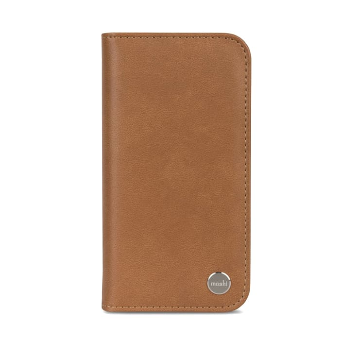 Чехол для iPhone X Moshi Overture Brown