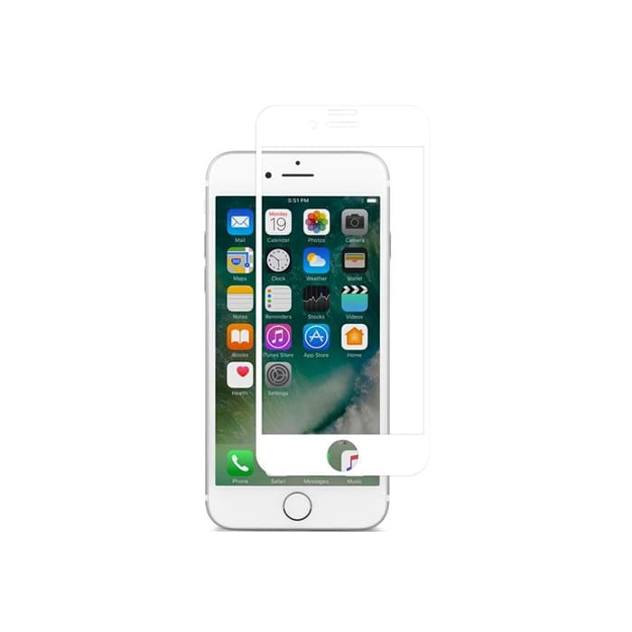 Защитное стекло для iPhone 7 Plus/8 Plus Moshi IonGlass White (Glossy)
