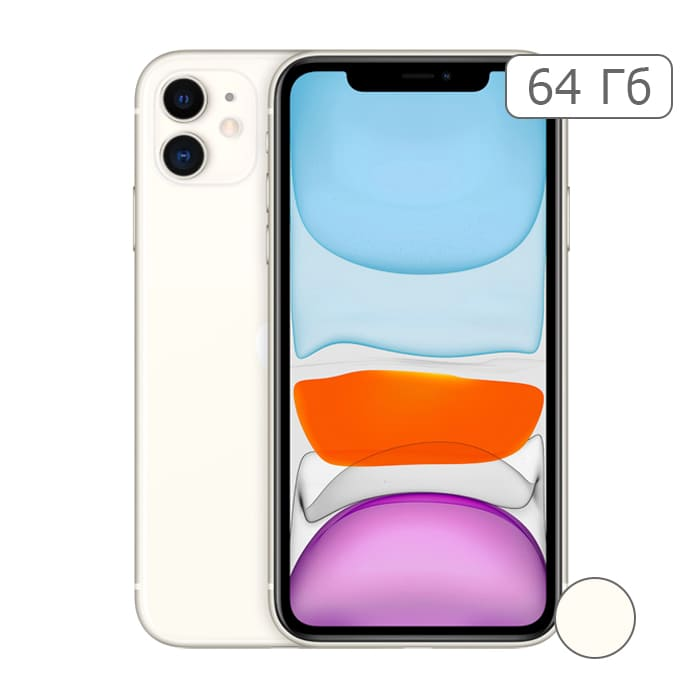 iPhone 11 64Gb White/Белый
