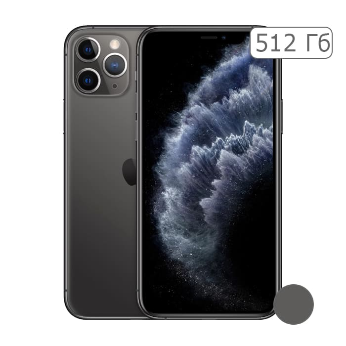 iPhone 11 Pro 512Gb Space Gray/Серый космос