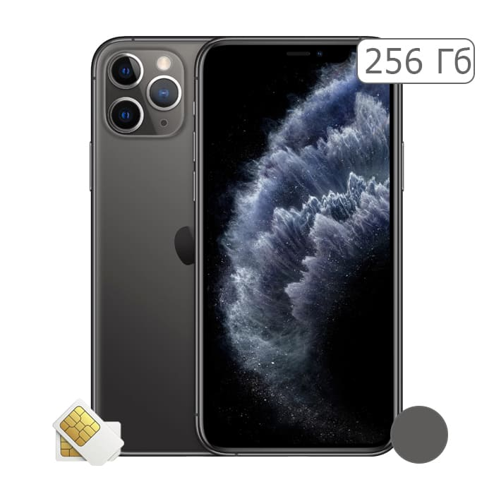 iPhone 11 Pro 256Gb Space Gray/Серый космос (2 sim)