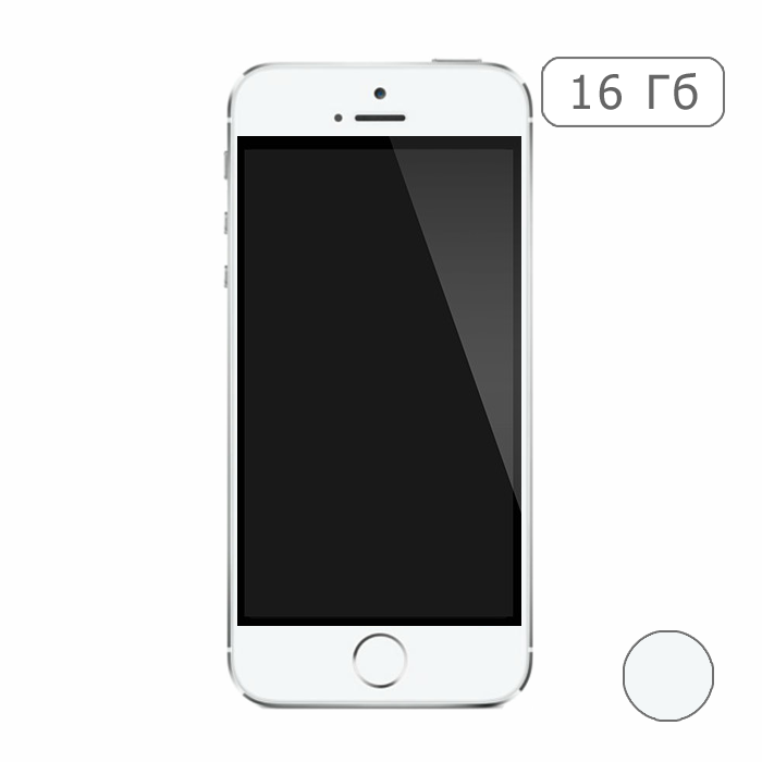iPhone 5S 16 Gb (silver)