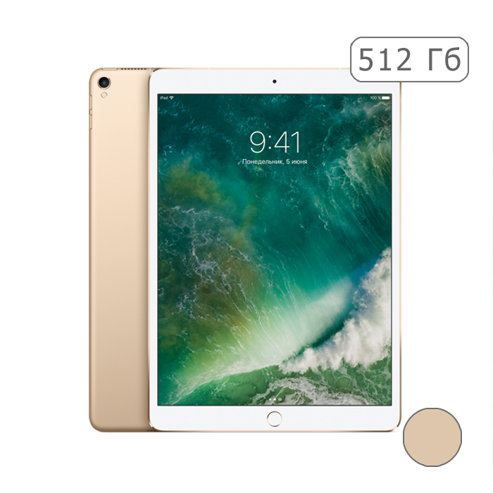iPad Pro 12,9 (2017) 512Gb Wi-Fi + Cellular Gold