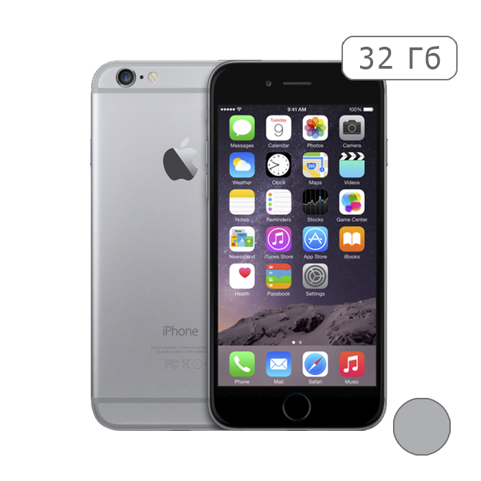 iPhone 6 32Gb (Space Gray)