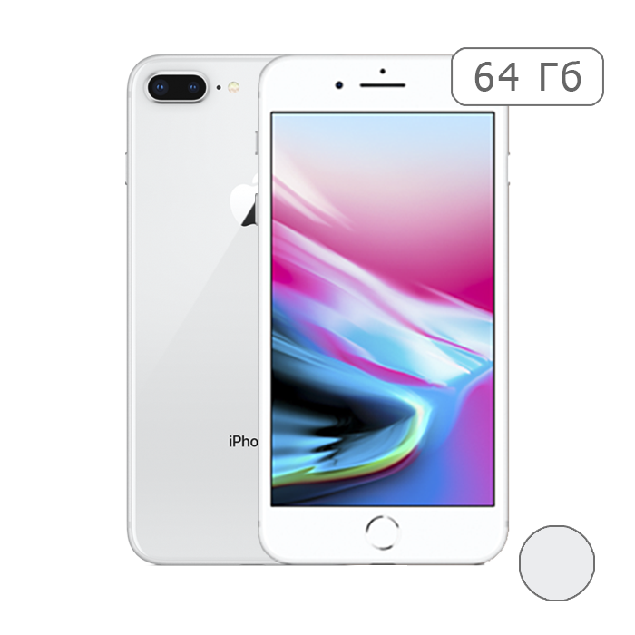 iPhone 8 Plus 64Gb Silver/Серебристый