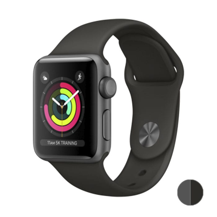 Watch Series 3 42 mm (MR362) Space Gray Aluminum Case with Gray Sport Band