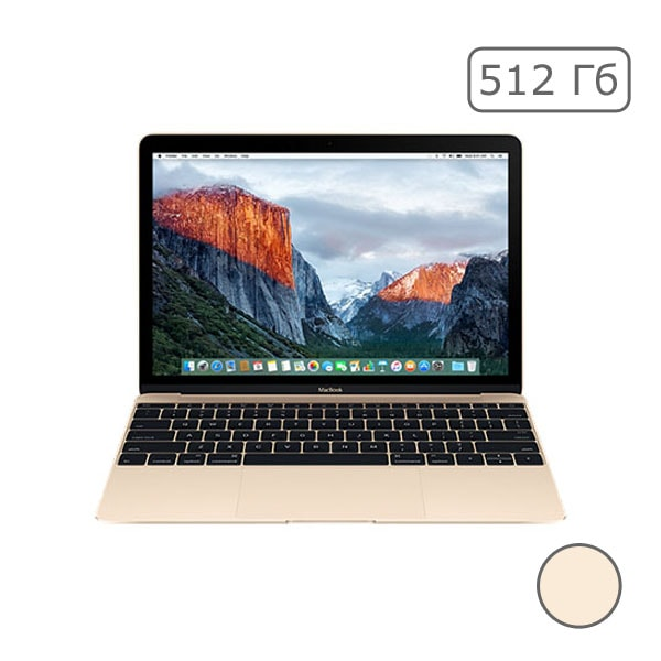 "MacBook 12"" Retina Gold 512 Gb Flash MNYL2"