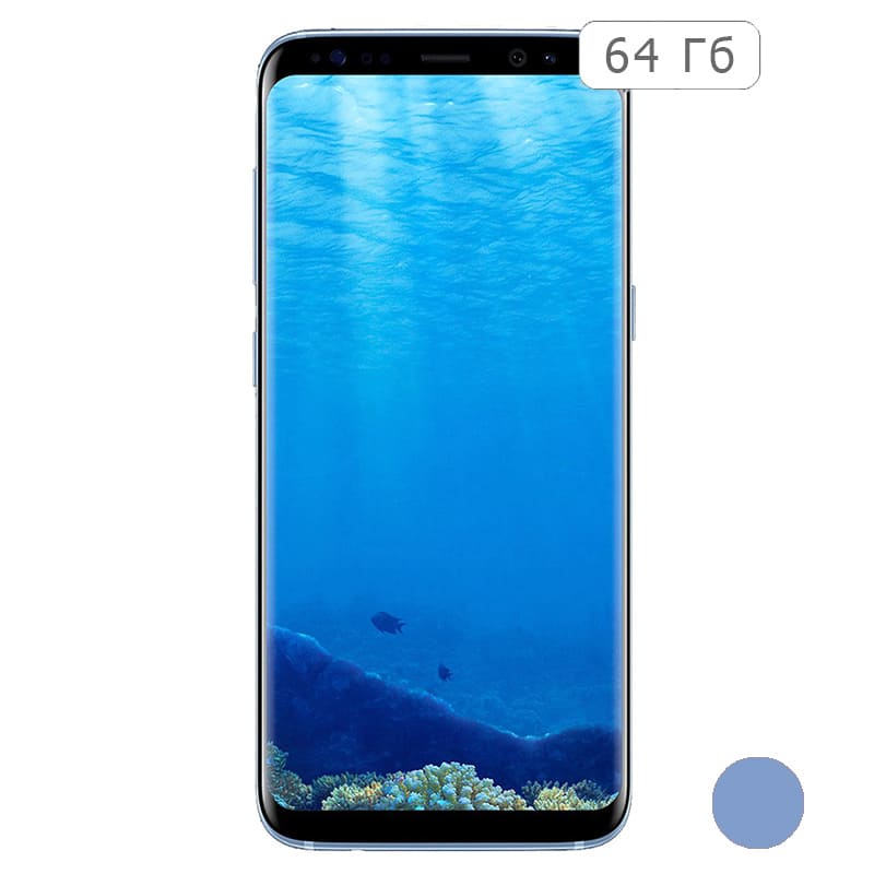 Galaxy S8 64Gb Coral Blue