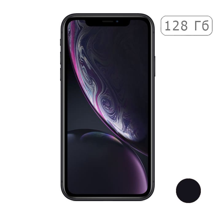 iPhone XR 128Gb Black/Черный